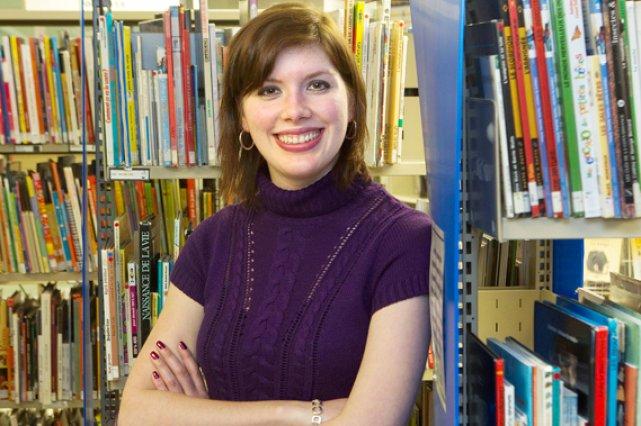 Aujourd'hui orthophoniste, Mélanie Paiement a réussi à contrôler... (La Presse, Robert Skinner)