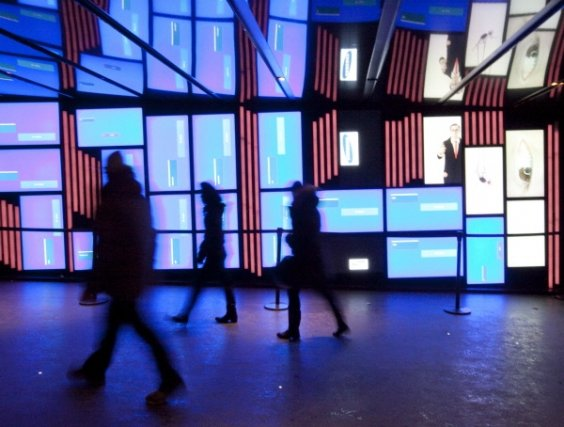 Corridor de la Place des Arts.... (Photo Marco Campanozzi, La Presse)