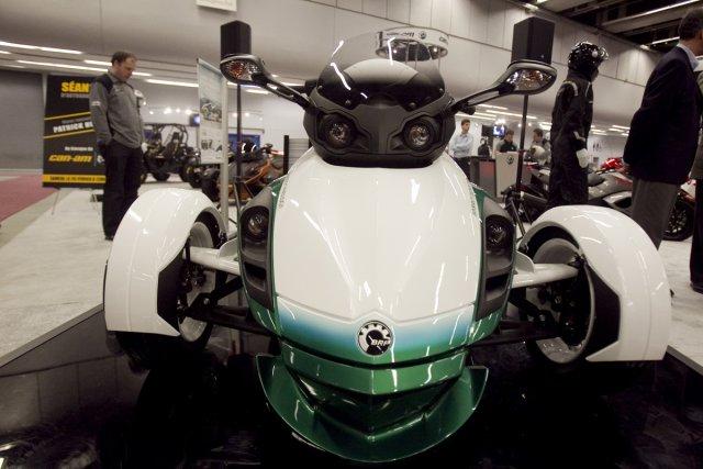 Le BRP Spyder Hybrid Concept.... (Photo Ivanoh Demers, La Presse)