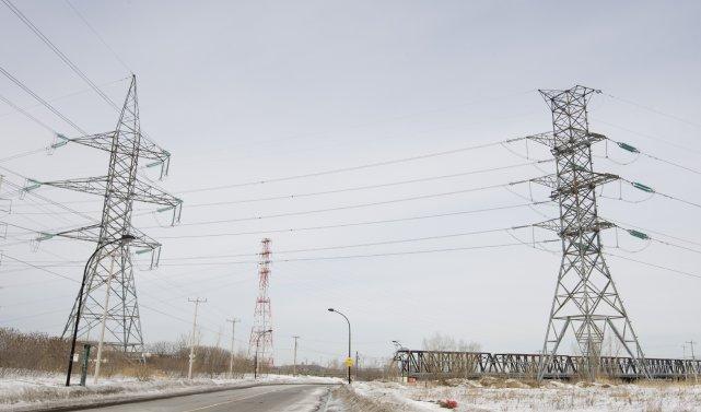 L'hydroélectricité fournit aux Québécois la puissance la moins... (PHOTO: IVANOH DEMERS, ARCHIVES LA PRESSE)