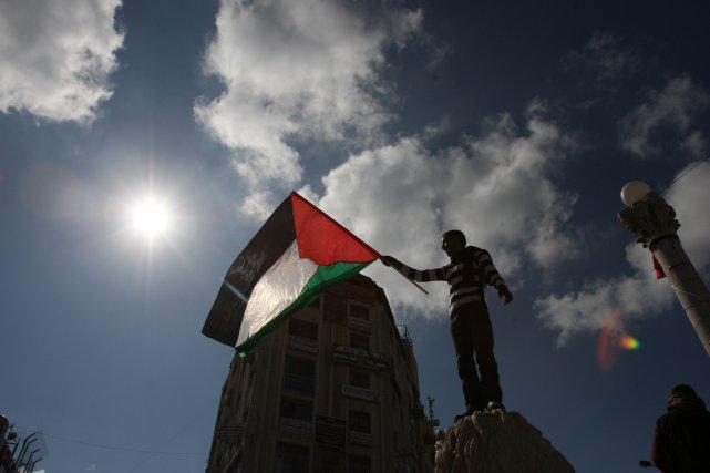 L'apartheid n'est pas en Israël, mais dans le... (PHOTO: ABBAS MOMANI, AFP)