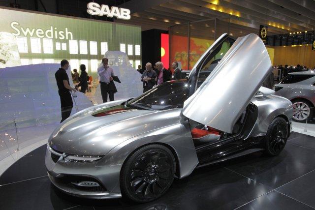 Le concept Saab PhoeniX.... (Photo Reuters)