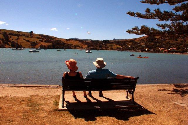 La ville d'Akaroa, près de Christchurch, en Nouvelle-Zélande... (Photo: AP)