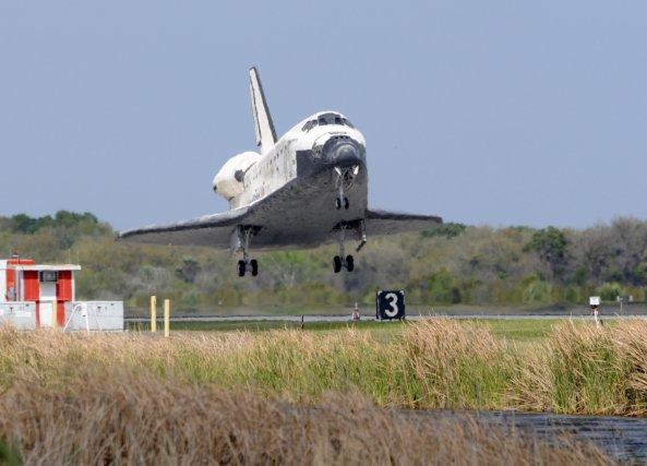 La navette spatiale Columbia.... (AFP)