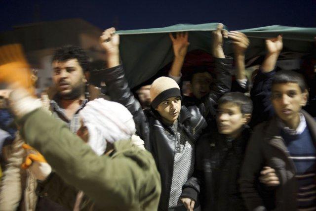 La révolution arabe a permis à certains médias... (Photo: AFP)