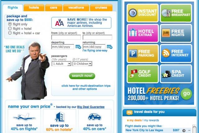 Priceline am liore son moteur de recherche nouvelles for Moteur de recherche hotel
