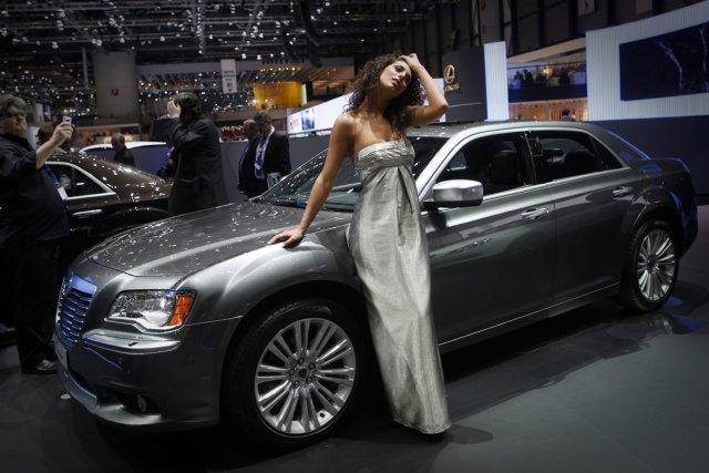La marque italienne Lancia réalise 80% de ses... (Photo AP)