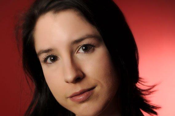 La jeune auteure de L'homme blanc, Perrine Leblanc.... (Photo: Archives La Presse)