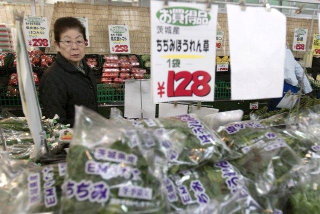 Le Japon a interdit la vente d'épinards qui... (Photo: AP)