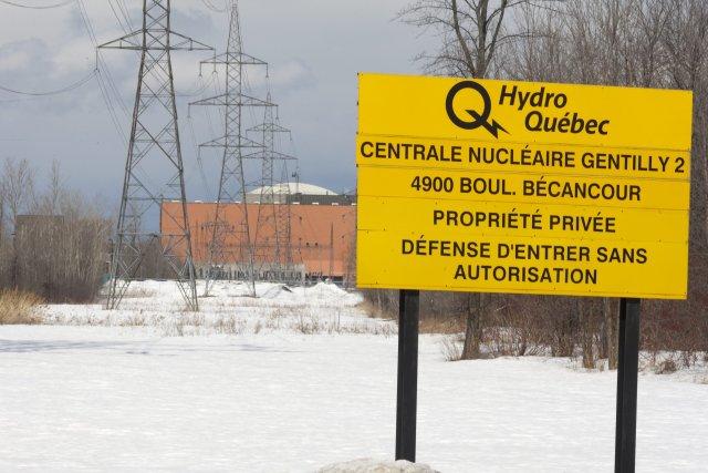 La centrale nucléaire Gentilly-2.... (PHOTO: JACQUES BOISSINOT, ARCHIVES LA PRESSE CANADIENNE)