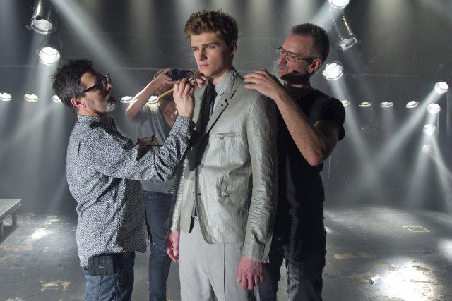 Shooting de mode de la prochaine collection du... (Photo: Alain Roberge, La Presse)