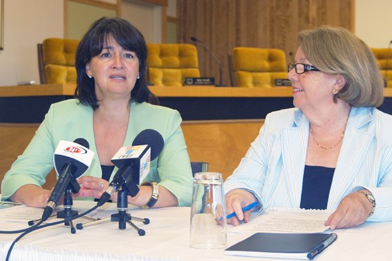 Les candidats de Haute-Gaspésie-La Mitis-Matane-Matapédia, parmi lesquels la... (Photothèque Le Soleil)