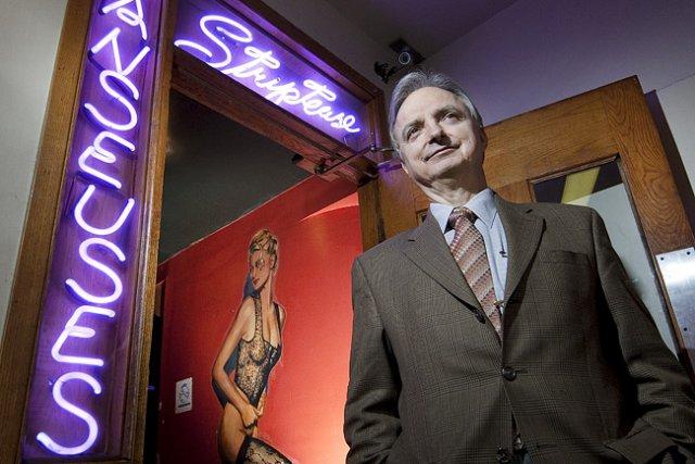 Johnny Zoumboulakis, propriétaire du Café Cléôpâtre: «Je ne... (Photo: Robert Skinner, La Presse)