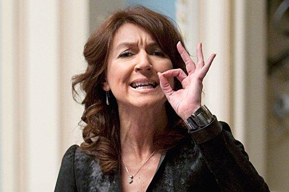 À l'Assemblée nationale, Mme Normandeau a souligné qu'Hydro...