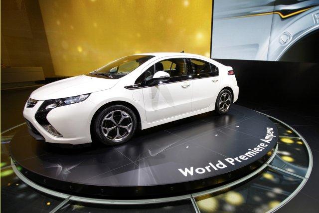 L'Opel Ampera, la Volt européenne.... (Photo Reuters)