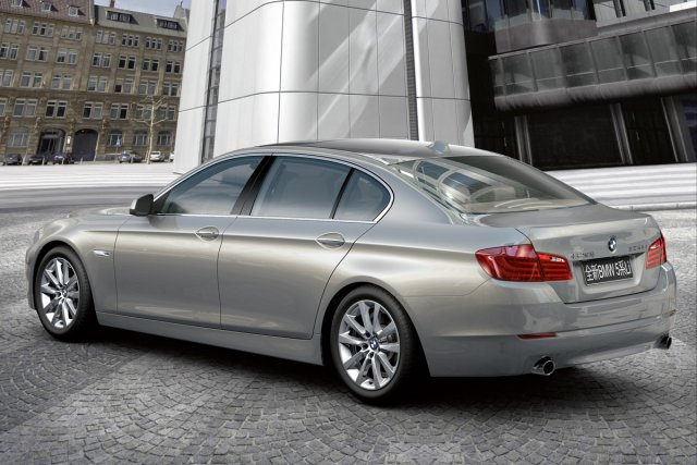 La BMW 535 Li.... (Photo fournie par BMW)