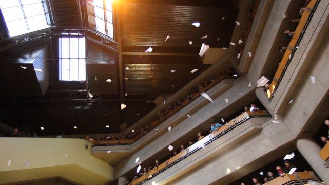 Les étudiants de l'UQAM ont fait savoir leur... (PHOTO: MARTIN CHAMBERLAND, LA PRESSE)