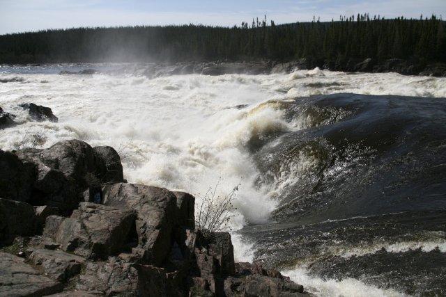 Dans le projet Muskrat Falls, il n'y a... (PHOTO: ARCHIVES PC)