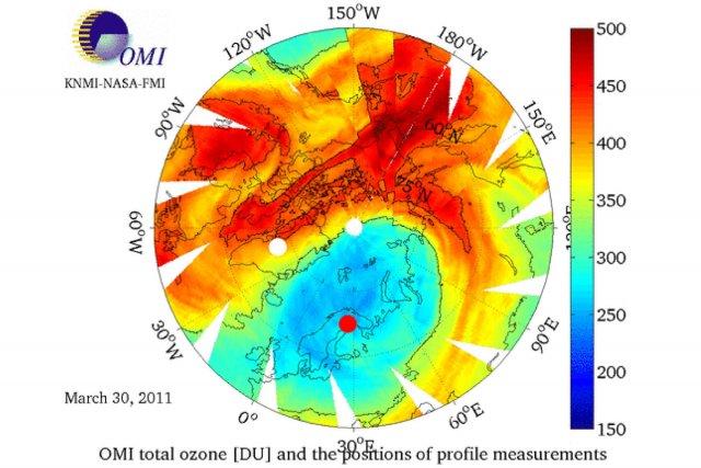 Le trou dans la couche d 39 ozone atteint un record environnement - Trou dans la couche d ozone ...