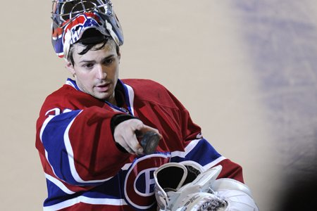 Carey Price a posé ce geste maintes et... (Photo: Bernard Brault, La Presse)