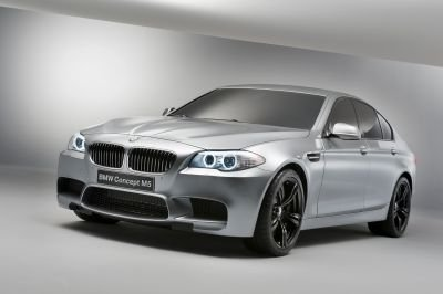 La BMW M5 Concept... (Photo: BMW)