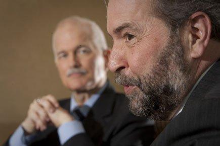Les libéraux soulignent que depuis que Thomas Mulcair... (Photo: André Pichette, La Presse)