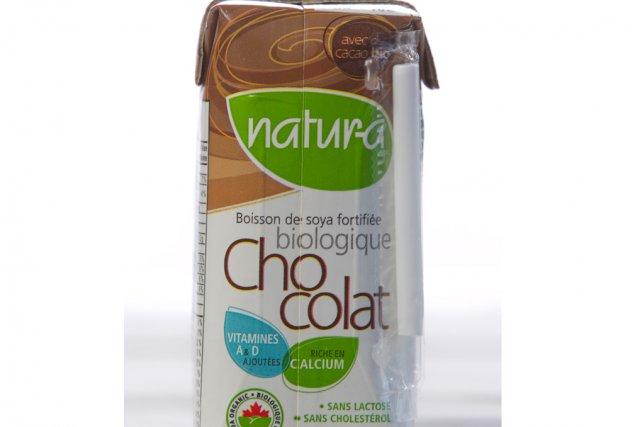 l 39 aliment sous la loupe boisson de soya au chocolat natur a marie allard nutrition. Black Bedroom Furniture Sets. Home Design Ideas