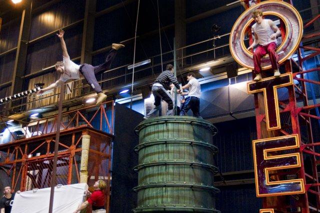 La troupe du spectacle Iris du Cirque du Soleil présenté dès la fin juillet au... (Photo: Ivanoh Demers, La Presse)