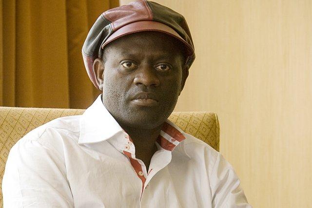 Alain Mabanckou, codirecteur du festival Étonnants  Voyageurs....