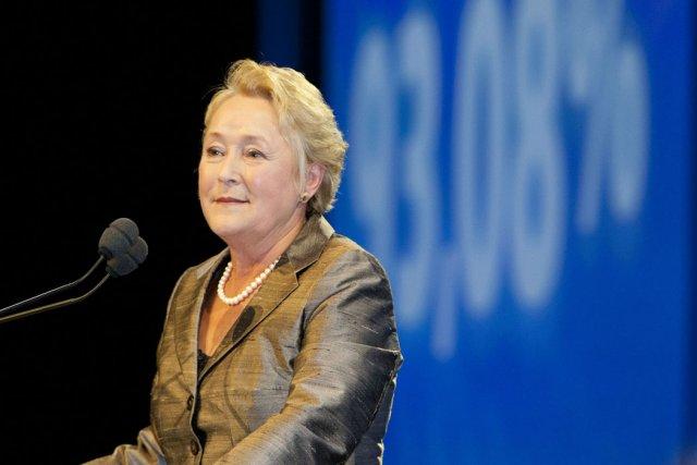 Pauline Marois a passé haut la main son... (Photo: Martin Leblanc, La Presse)