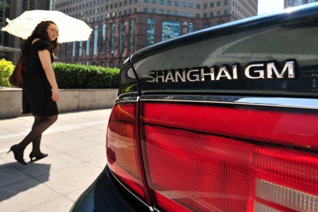 Le groupe américain General Motors a annoncé lundi vouloir doubler ses ventes... (Photo: archives AFP)