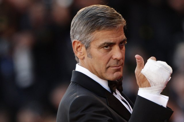George Clooney - ici en 2009 au festival... (Photo Reuters)