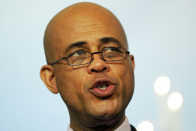Le gouvernement du président Michel Martelly tente de... (Photo: AFP)