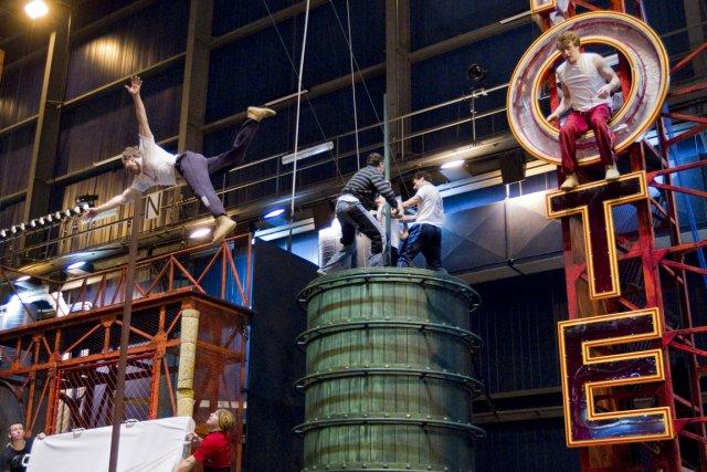 Le nouveau spectacle du Cirque du Soleil, IRIS,... (Photo: Ivanoh Demers, La Presse)