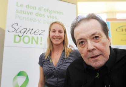 Véronique Leblond et Gaston Cousineau ont une chose... (Imacom Jessica Garneau)
