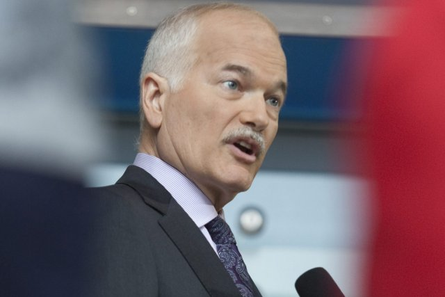 Le chef du NPD, Jack Layton, a réagi... (Photo: Jacques Boissinot, PC)