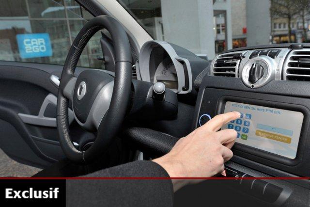 Ces voitures «à usage spontané», l'entreprise Communauto les... (Photo: Bloomberg)
