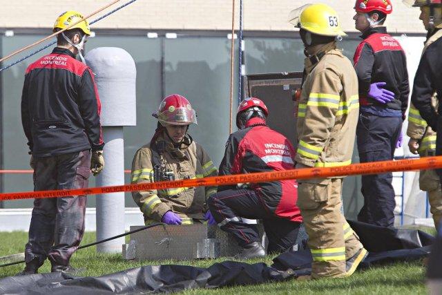 Un accident de travail a coûté la vie... (Photo: Patrick Sanfaçon, Archives La Presse)