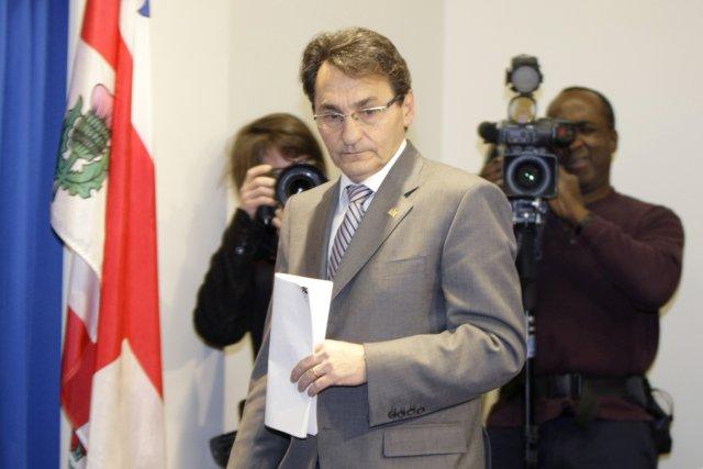 Le chef du parti de l'opposition Projet Montréal,... (Photo: Alain Roberge, La Presse)