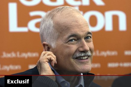 Le chef du NPD Jack Layton.... (Photo: Andrew Vaughan, PC)