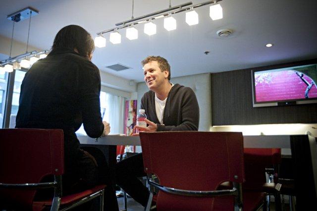 Le réalisateur Francis Legault, en entrevue.... (Photo: François Roy, La Presse)
