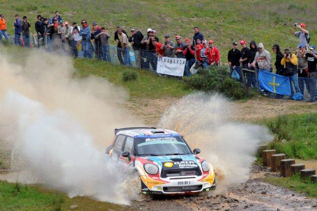 Mini, qui a roulé en catégorie S2000 lors... (Photo AFP)