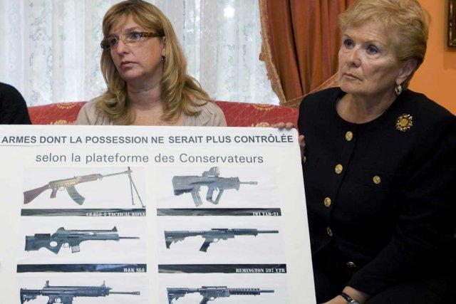Parmi les six signataires, on retrouve Suzanne Laplante-Edward... (Photo PC)