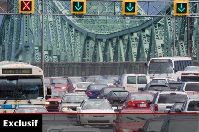 À lui seul, le pont Jacques-Cartier nécessite des... (Photo: La Presse)