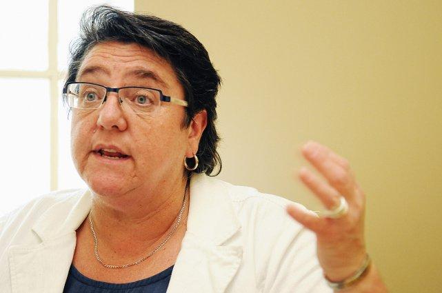 La conseillère Sylvie Tardif... (Photo: Andréanne Lemire)