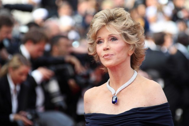 Jane Fonda.... (Photo: AFP)