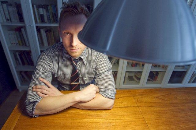Le Nouveau Projet de Nicolas Langelier se veut... (Photo: Ivanoh Demers, La Presse)