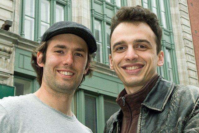 Philippe Antoine Lehoux et Gregory Stadesky sont les... (Photo fournie par Abri.co)