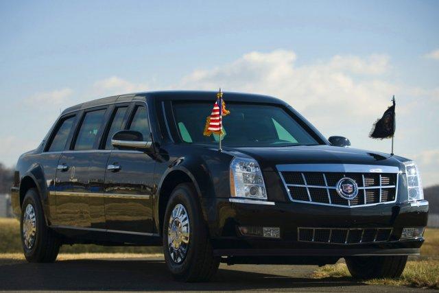 Apparemment, le chassis de la Cadillac, très bas,... (Photo: Reuters)