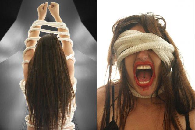 Finalité finale est une oeuvre de Geneviève Fortin,... (Photo: fournie par Agir, art des femmes en prison)